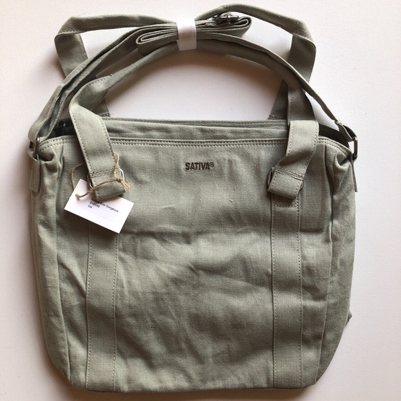 2417b3a2cffb Sativa Hemp Large Shoulder Bag Purse -  Brand New